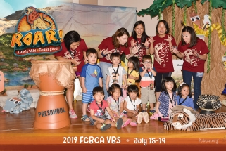 2019 FCBCA VBS Preschool group FUN