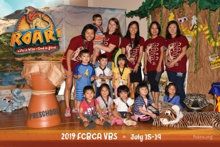 2019 FCBCA VBS Preschool groupB